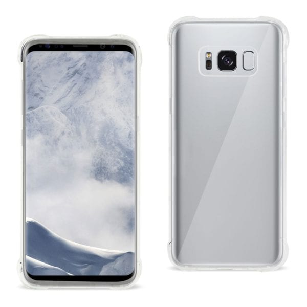 Samsung S8 Clear Bumper Case with Air Cushion Protection